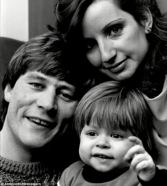 Legacy: Ben Hardwick at home with his parents Billy and Debbie, little Ben had a liver transplant from which he never fully recovered, and died