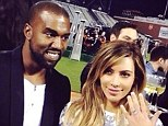 Not true! A representative for Kim Kardashian has denied that she and Kanye West refused an offer of a charity donation to settle lawsuit over their leaked engagement video