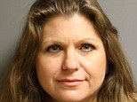 Inappropriate: Middle school math teacher Corrie Long, 43, allegedly performed oral sex on one of her students in her classroom