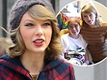 Generous Taylor Swift makes sick fans' day as she spends almost five hours visiting with them during hospital visit