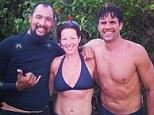 Bikini babe! Sarah McLachlan shared a snap of her toned figure while on a Hawaiian holiday