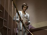 Birthing a remake: Zoe takes on the role made famous by Mia Farrow in the Roman Polanski-directed 1968 flim