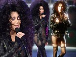 She really Turned Back Time! Cher, 67, looks ageless in the same sheer black leotard she wore in iconic 1989 music video