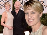 Robin Wright gushes about her Australian fiance Ben Foster