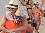 Beach babe Alicia Keys shows off her toned physique as she hits the sand in St Barts during a fun family vacation