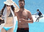 Justin Timberlake and Jessica 'Biel-kini' show off his and hers beach bodies as they make a splash in the Caribbean