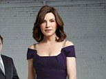 Shock twist: A cast member of The Good Wife has revealed all about the surprise plot point on Sunday night's episode