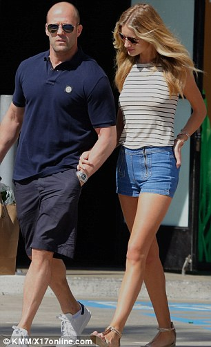 Still going strong: The longtime couple, who first went public with their relationship back in April 2010, have bounced back from split rumours and appear more solid than ever as they enjoy a trip to Los Angeles together