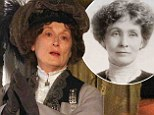 She's got big shoes to fill! First look at Meryl Streep portraying British political activist Emmeline Pankhurst in Suffragette