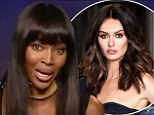 Naomi Campbell and Nicole Trunfio
