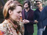 Lucky lady! Blake Lively get a visit from husband Ryan Reynolds after filming scenes with hunky co-star Michiel Huisman