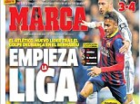 So it begins: Marca claims that the game has blown the title race wide open