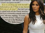 'That is my favorite web site of all time!' Kim Kardashian gushes about her love of Mail Online in Vogue interview