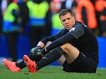 Big call: Arsene Wenger is ready to drop Wojciech Szczesny for the game against Swansea on Tuesday night