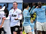 United are only ever one defeat away from a fresh disaster... but Moyes's side can land killer blow on neighbour's title chances