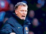 Still plugging away: David Moyes believes Manchester United can reach the top four this season