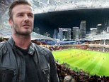 David Beckham's new Miami stadium