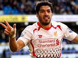 On fire: Gus Poyet joked he hoped fellow Uruguayan Luis Suarez was too ill to face his side