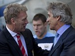 Manchester managers David Moyes and Manuel Pellegrini