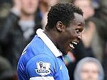 Loan star: Belgium striker Romelu Lukaku (left) has been a big hit at Everton this season
