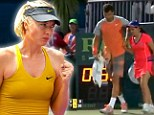 Maria Sharapova's boyfriend Grigor Dimitrov stopped a match in Miami to help an ill ball girl receive medical care