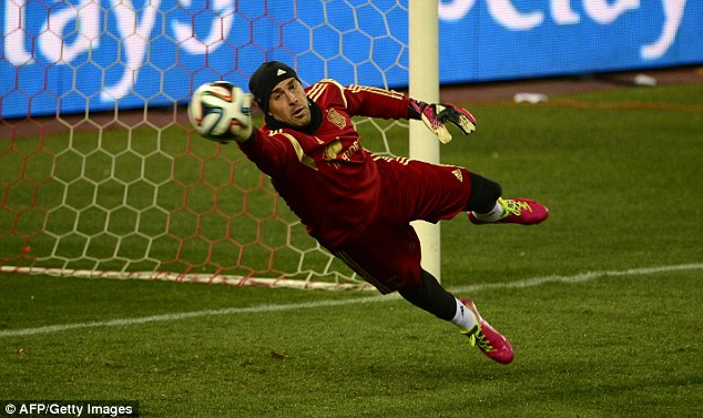 Crossed wires: The Spain international has already penned an open letter saying goodbye to supporters