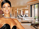 Rihanna puts palatial Los Angeles mansion on the market for $15m... just over a year after purchase