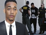Rapper Lil Za catches a break in his felony vandalism case after being arrested at best friend Justin Biebers' house