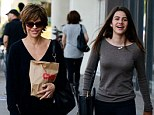 Lisa Rinna was spotted shopping with her daughters Delilah Belle Hamlin and Amelia Gray Hamlin at CVS Pharmacy in Studio City, CA