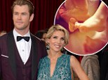 Welcome to the world,Tristan and Sasha! Chris Hemsworth and Elsa Pataky reveal names of their twin boys as she tweets snap of tiny feet