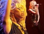 Saucy: Taylor Momsen performs with Pretty Reckless after almost nude album cover