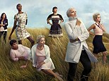 New images: M&S has unveiled more campaign images of the Leading Ladies (L-R) Lulu Kennedy, Alex Wek, Doreen Lawrence, Emma Thompson, Rachel Khoo, Annie Lennox and Rita Ora