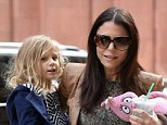 Give me a lift: Bethenny Frankel and daughter Brynn were spotted out Sunday with the reality star's rumored boyfriend, Michael Cerussi