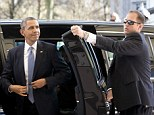 Scandal: Three of President Barack Obama's Secret Service agents (not pictured) were disciplined and sent home from the Netherlands after getting drunk in a hotel a day before the commander-in-chief's arrival Monday