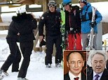 The 29-year-old and his girlfriend, Cressida Bonas - accompanied by a team of taxpayer-funded Scotland Yard bodyguards - were flown to the billionaires' playground of Shymbulak