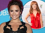 'Demi Lovato is the biggest douche celebrity': Kathy Griffin slams pop star for criticising Lady Gaga over vomiting stunt