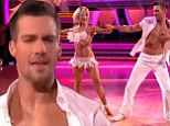 James Maslow inducted into 'sexy hall of fame' for showing off his six-pack abs on Dancing With The Stars as first two couples are eliminated