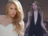 Shakira plays the runaway bride... before transforming into a vamp in her steamy new music video for Empire