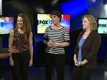 Feeling great: Elizabeth O'Dell, Carrie Roberts, and Laura Gilomen have lost a total of 350lbs together