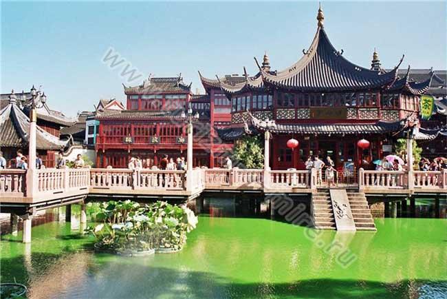 большой город Китая Шанхай