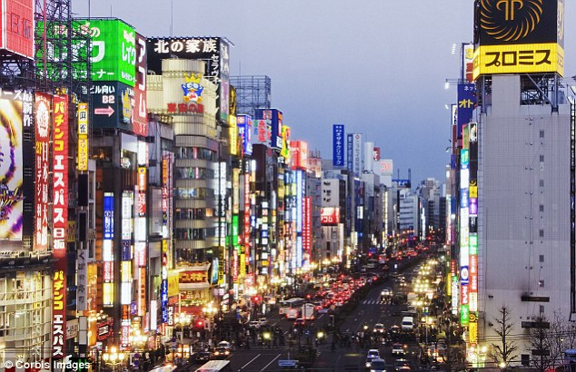 Bright lights, big city: Tokyo in its rather more 21st century guise
