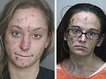 The horrific effect that drugs can have on addicts have been highlighted in a series of disturbing pictures and video
