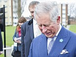 Prince Charles was handed the pastry by Stuttgart-born delicatessen worker Petra Braun from the creatively-named Hansel and Pretzel shop in Ham, Surrey