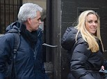 Unstoppable: Kate Gosselin was spotted heading into her NYC hotel with her rumoured boyfriend/ bodyguard Steve Neild on Tuesday