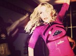 You can look like me! Madonna led a dance workout at her Hard Candy gym in Toronto, Canada
