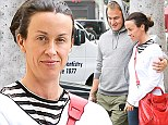 Lunch date! Alanis Morissette goes make-up free during a romantic outing with husband Mario Treadway