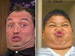 Jude Law pulls funny face with Jimmy Fallon
