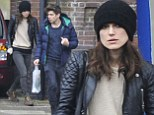 Hangover lunch? Keira Knightley looks weary as she step out for lunch a day after her 29th birthday