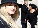 Ashlee Simpson celebrates soon-to-be mother-in-law Diana Ross' 70th birthday with low-key beach bash before glamming up for her own engagement party
