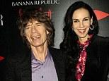 Sole heir: Mick Jagger's fashion designer girlfriend L'Wren Scott (right) has left her entire $9million estate to the Rolling Stones singer